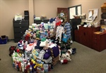Over $2700 Donated During Forget the Fine Supply Drive!